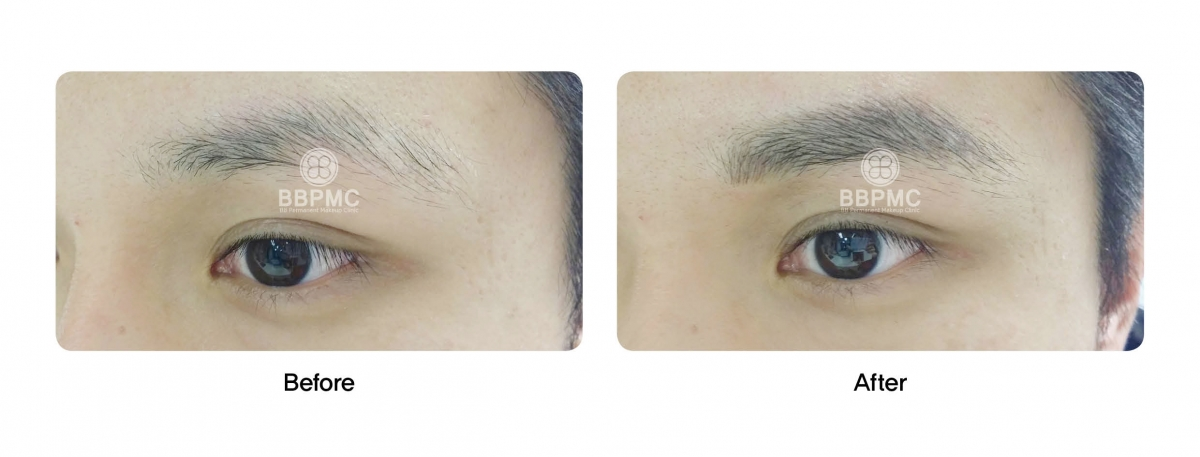 Eyebrows with Feathering Technique